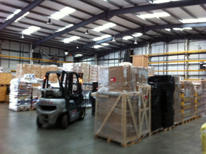 CLF Freight - warehouse